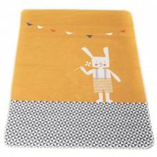 David Fussenegger Baby Blanket Juwel Orange Bunny