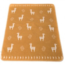 David Fussenegger Baby Blanket Juwel Lama, Orange