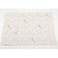 David Fussenegger Panda Bamboo Blanket 100х150 cm Reindeer, Beige
