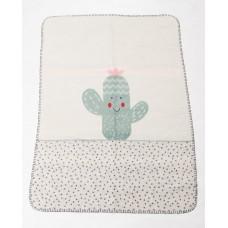 David Fussenegger Panda Bamboo Blanket Cactus