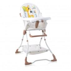 Lorelli Bonbon Beige&White GIRAFFE Baby High Chair