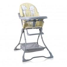 Lorelli High Chair Bonbon Yellow HAPPY HIPPO