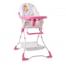 Lorelli High Chair Bonbon Pink BALLET