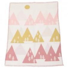 David Fussenegger Бебешко одеяло Finn Розова гора