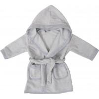 Bubaba Children's bathrobe Grey
