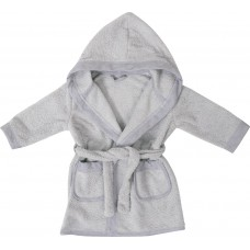 Bubaba Children's bathrobe Grey