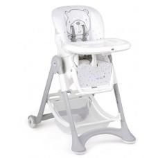 Cam Campione Baby High Chair col.247 Teddy Bear Grey