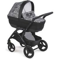 Cam Baby stroller 3 in 1 Dinamico Smart col.913 Black Leaf