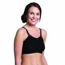 Carriwell Комфортен сутиен за бременни и кърмачки, Черен