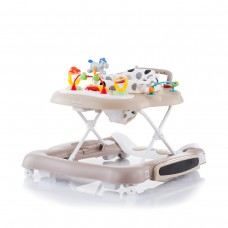 Chipolino Fancy 4 in 1 Baby Walker, Beige dots