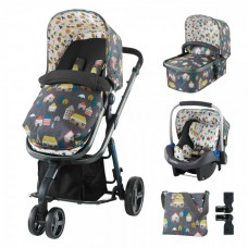 Cosatto Giggle 2 Baby stroller Hygge Houses, 3 in 1
