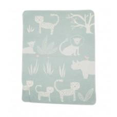 David Fussenegger Baby Blanket Juwel 70х90 Jungle, Mint