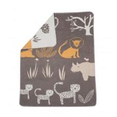 David Fussenegger Бебешко одеяло Juwel 70x90 Джунгла, Кафяво