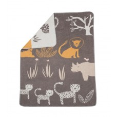 David Fussenegger Baby Blanket Juwel 70х90 Jungle, Brown