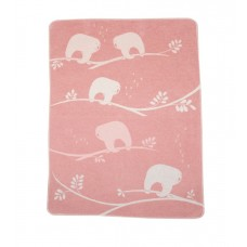 David Fussenegger Бебешко одеяло Juwel 70x90 Ленивец, Розово