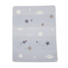David Fussenegger Бебешко одеяло Juwel 70х90 Планети, Светлосиньо