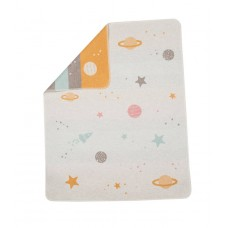 David Fussenegger Бебешко одеяло Juwel 70х90 Планети, Жълто