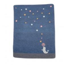 David Fussenegger Бебешко одеяло Juwel 70х90 Тюленче, Синьо