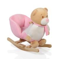 Moni  Детска люлка Bear, Розова