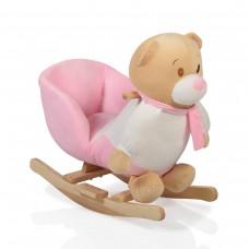 Moni Rocking Pink Bear