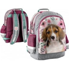 PASO School Backpack Studio Pets Dog