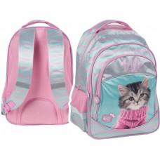 PASO School Backpack Studio Pets Hello