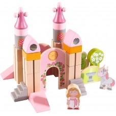 Haba Дървени кубчета конструктор Замъкът на Принцесата