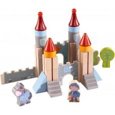 Haba Дървени кубчета конструктор Замъкът на Рицарите