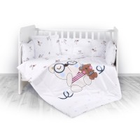 Lorelli 4-elements Bedding Set Bear Beige