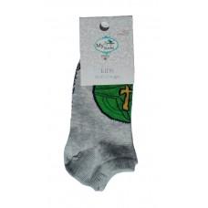 Baby Ankle Socks, Lego Grey