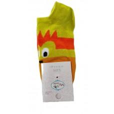 Детски спортни чорапи 2 - 4 години, Жълти