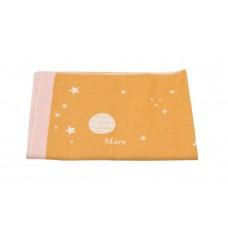 David Fussenegger Детско одеяло Juwel 100х140 cm Вселена, Жълто