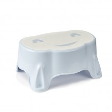 Thermobaby Babystep footstool Blue Soft White