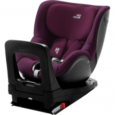 Britax DUALfix i-Size (0-18kg) Car Seat Burgundy Red