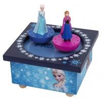 Trousselier Dancing Elsa and Ana Frozen Figure Music Box