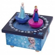 Trousselier Dancing Elsa and Ana Frozen Figure Music Box