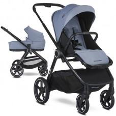 Easywalker Бебешка количка Rudey 2 в 1 Steel Grey