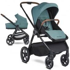 Easywalker Бебешка количка Rudey 2 в 1 Forest Green