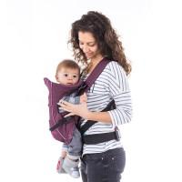 Chipolino Baby carrier Dino Amethist