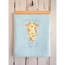 Libebe Summer Blanket 75 x 90 cm Bunny Blue