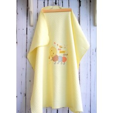 Libebe Summer Blanket 75 x 90 cm Bunny Yellow