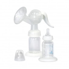 Lorelli Manual Breast Pump with bottle 120 ml, White
