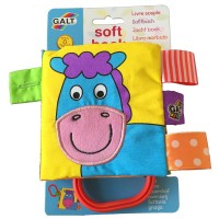 Galt Baby Soft Book-Farm