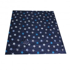 Minene Picnic Mat & Bag Navy blue with stars