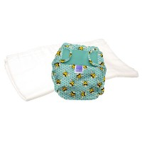 Bambino Mio Miosoft two-piece nappy Trial Pack Bumble