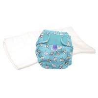 Bambino Mio Miosoft two-piece nappy Trial Pack Rainy days