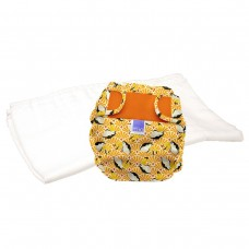 Bambino Mio Miosoft two-piece nappy Trial Pack Toucan
