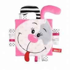 Mom's care Мека играчка - одеялце за гушкане Пинки