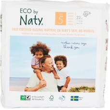 Naty Eco nappies Nature Babycare, size 5