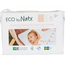 Naty Eco nappies Nature Babycare, size 1